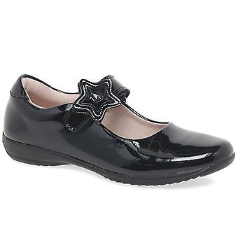 Lelli Kelly Colourissima Star Velcro Girls School Shoes