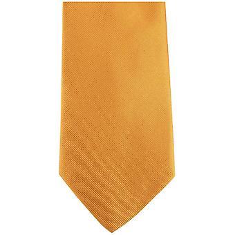 Bassin og Brown ren silke slips - grønn