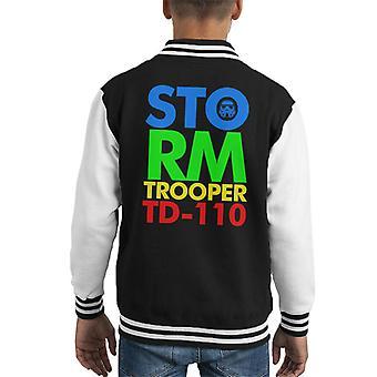 Original Stormtrooper 80s Logo Kid's Varsity Jacket