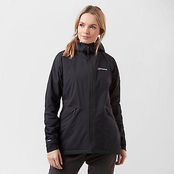 New Berghaus Women's Stormcloud Insulated Full Zip Jacket Black