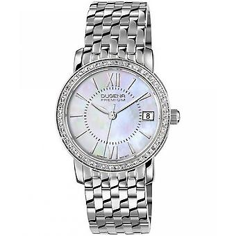 Dugena premium ladies watch Rondo Petit stone 7590138