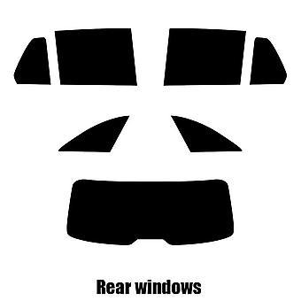 Предварительно вырезать окна оттенок - Мерседес C-класс Estate - 2015 и новее - задние окна