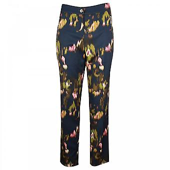 Marie Mero Women's Abstract Print Tailored Trousers