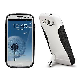 Case-Mate Pop! 2 Case for Samsung Galaxy SIII (White/Black)