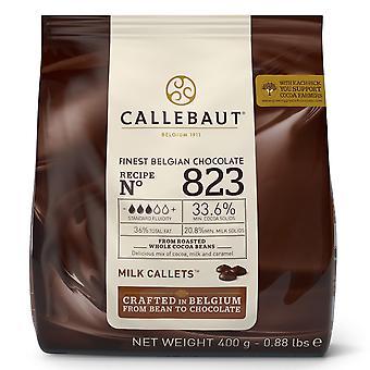 カレボー 34% ミルク チョコレート '823' Callets