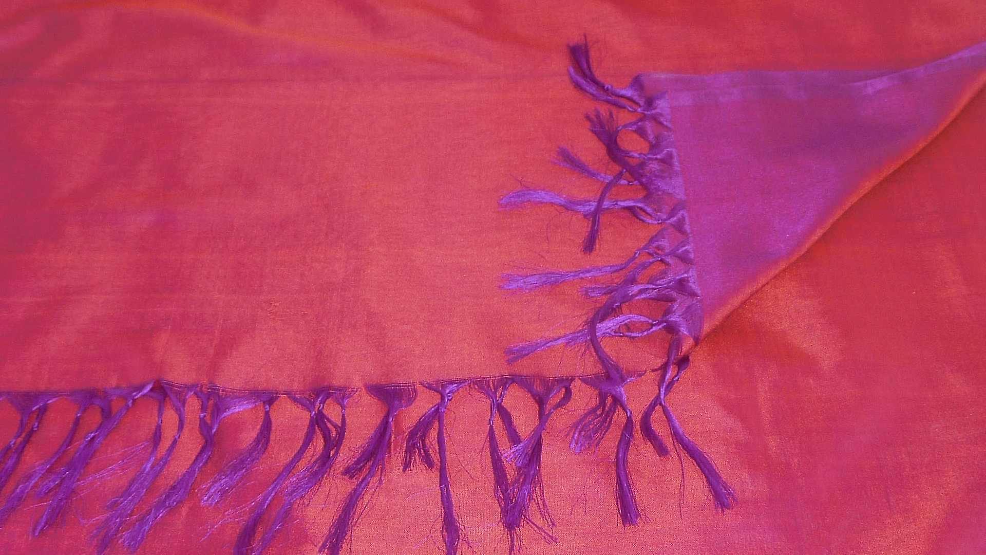 Varanasi Silk Long Scarf Heritage Range Hadi 4 by Pashmina & Silk
