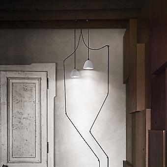 Aceite ideal Lux 4 enchufe concreto colgante con Cable de 12 metros
