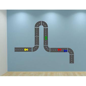 Create Your Own Race Track Wall Sticker