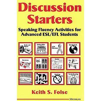 Diskussion-Vorspeisen - sprechen fließend Aktivitäten für fortgeschrittene ESL/EFL