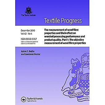 A medição de propriedades de fibras de lã e seu efeito na lã penteada processamento de desempenho e qualidade do produto: parte 1: A medição objetiva de