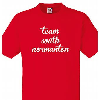 South Normanton Red T Shirt Team