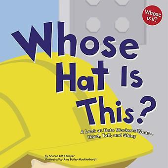 Dessen Hut ist das?: einen Blick auf Hüte Arbeitnehmer tragen schwer, groß und glänzend