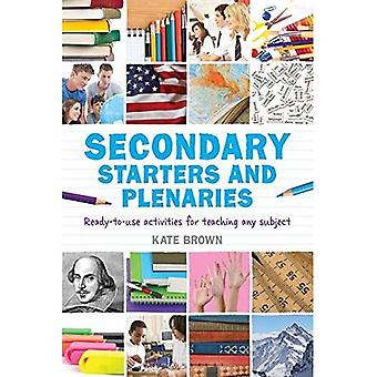 Secondary Starters and Plenaries: Ready-to-use activities for teaching any subject
