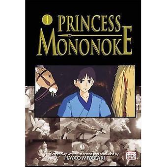 PRINCESS MONONOKE FILM TEGNESERIE GN VOL 01