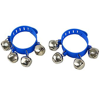 A-Star Plastic Wrist Bells Pair - Blue