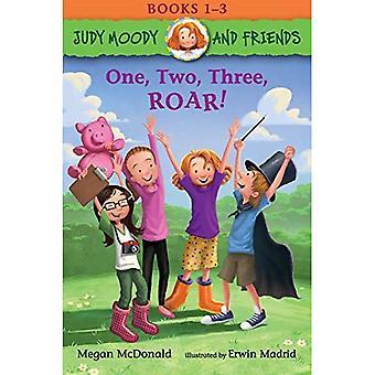 Judy Moody und Freunde: eins, zwei, drei, brüllen!: Bücher 1-3