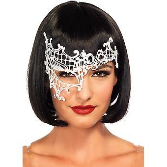 Mask Daring Venetian Wht For Women