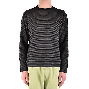 Armani Collezioni Ezbc049042 Männer's Multicolor Seide Pullover