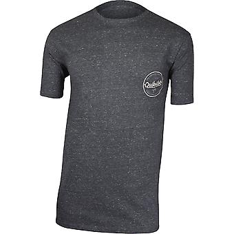 Quiksilver Mens Quik Lightening T-Shirt - Charcoal Heather Gray