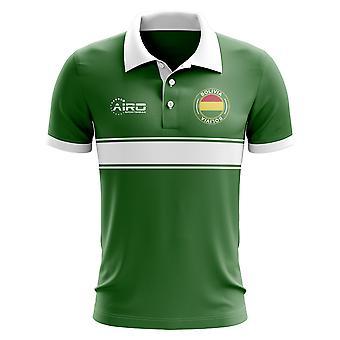 Bolivia Concept Stripe Polo skjorte (grøn)-børn