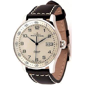 Zeno-watch mens watch X-large retro automatic P554-e2