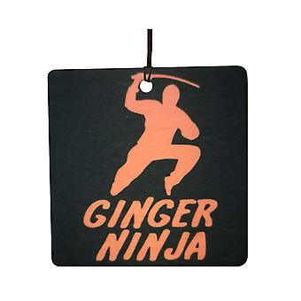 Ingefær Ninja bil Air Freshener