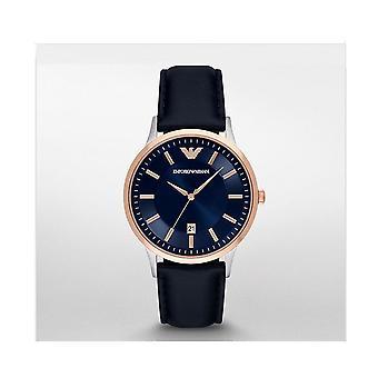 Emporio Armani Ar2506 Leather Band 43mm Watch