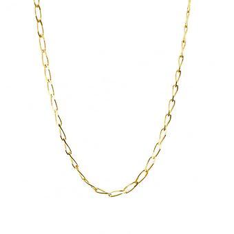 Evigheden 9ct guld 20 ' ' diamant cut solid Rada bremse kæde