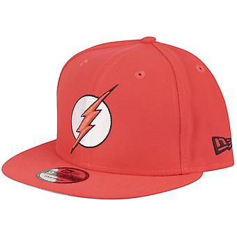 New Era 9Fifty Snapback DC Comics Cap - FLASH lava red