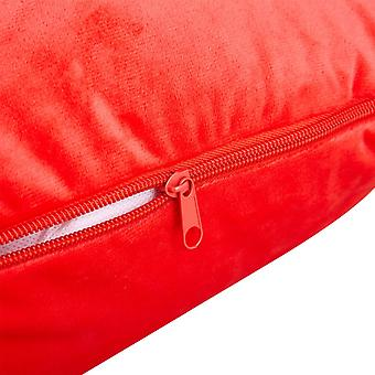 Snipe case Red Velour for Body pillow Eleonora U-shape