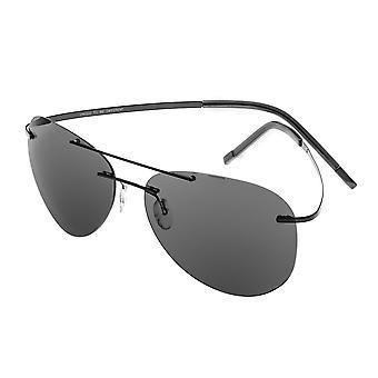 لوناً تولد الاستقطاب النظارات الشمسية-أسود/أسود
