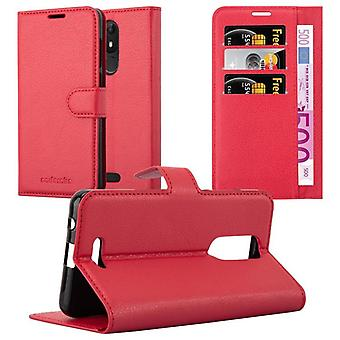 Cadorabo case for WIKO VIEW LITE case case cover - mobile phone case with magnetic clasp, stand function and card compartment – Case Cover Protective Case Case Book Folding Style