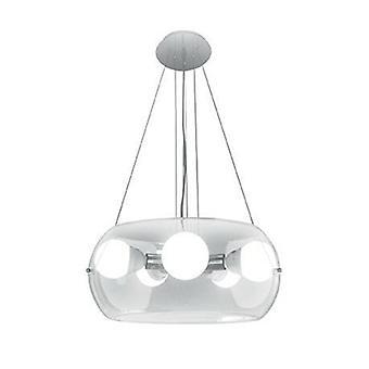 5 Light Ceiling Pendant Clear