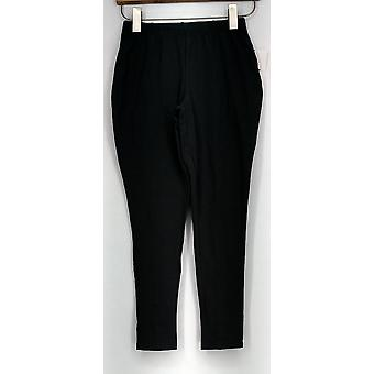 Femmes avec contrôle Petite Leggings XSP Pull On Tushy Lifter Gray New A269637