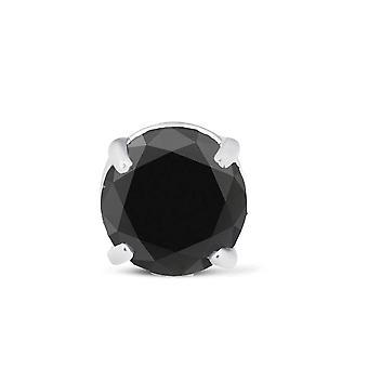 1ct Single Diamond Stud Orecchino 14K Bianco Oro