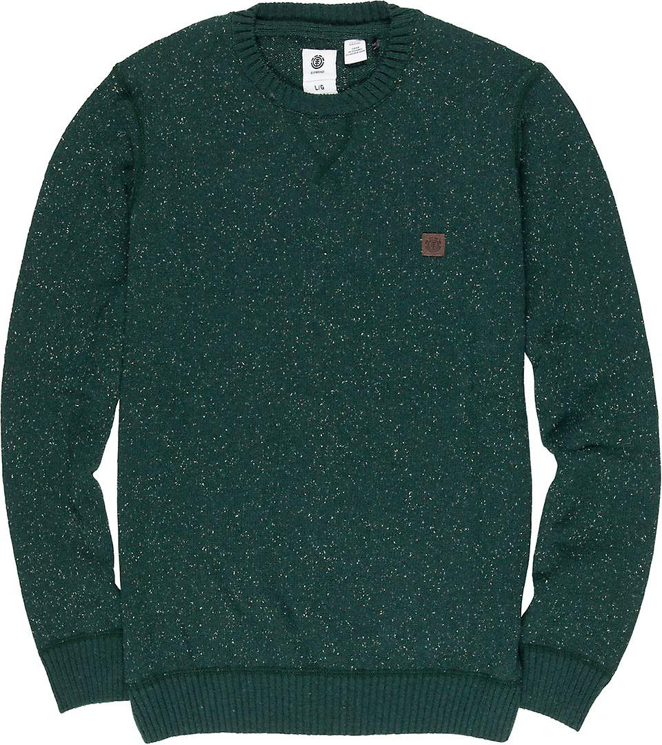 Element Knitted Sweater ~ Kayden spruce