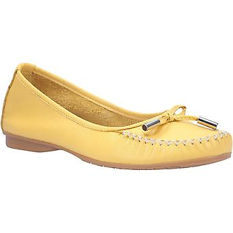 Riva Womens Ceres Ladies Lace Up Sapato Amarelo