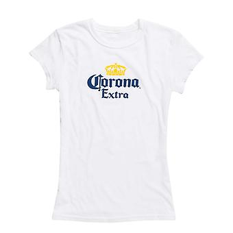 Corona Extra Ladies White Tee Shirt