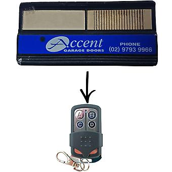 Custom To Suit Accent CAD603 062171 Garage Door Remote