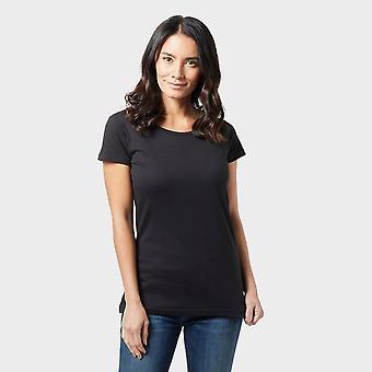 New Regatta Women's Plain Short Sleeve Tee Black