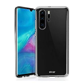 Stoff zertifiziert® Transparent Clear Case Cover Silikon TPU Fall Huawei P30 Pro