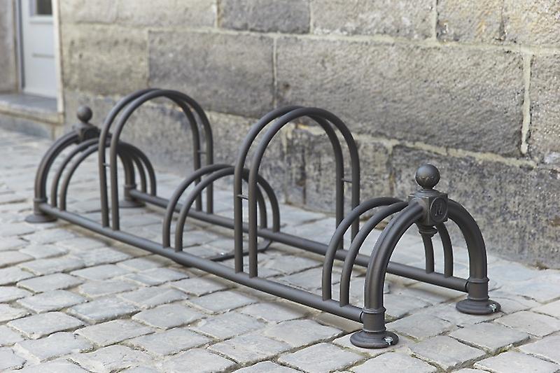 """Mottez - Fietsenrek """"Versailles II"""" rusty (5 fietsen)"""