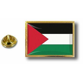 Pins Pin Badge Pin's Metal  Pince Papillon Drapeau Palestine Palestinien