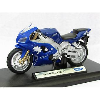 Welly Model  1999 Yamaha YZF-R1 Blue  1:18