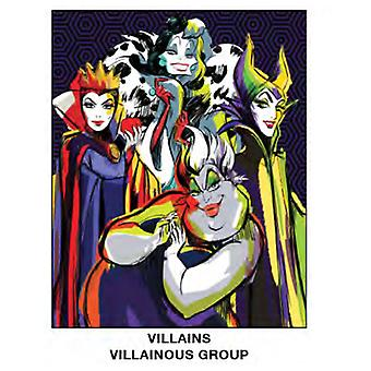 Super Soft Throws - Disney - Villains - Aillainous Group 45x60