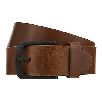 Teal Belt Men's Belt Leather Belt Denim Belt Cognac 8338