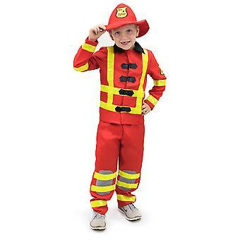 Flamin' Firefighter Children's Costume, 3-4
