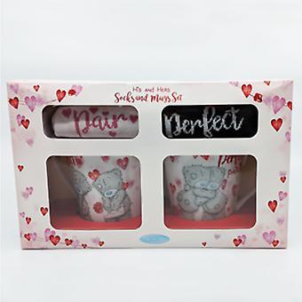 Me to you Valentines sokken ' n ' mokken cadeauset