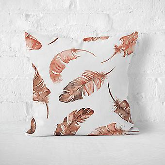 Meesoz Coussin - Brown Feathers
