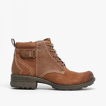 Earth Spirit Paxton Ladies Suede Ankle Boots Almond